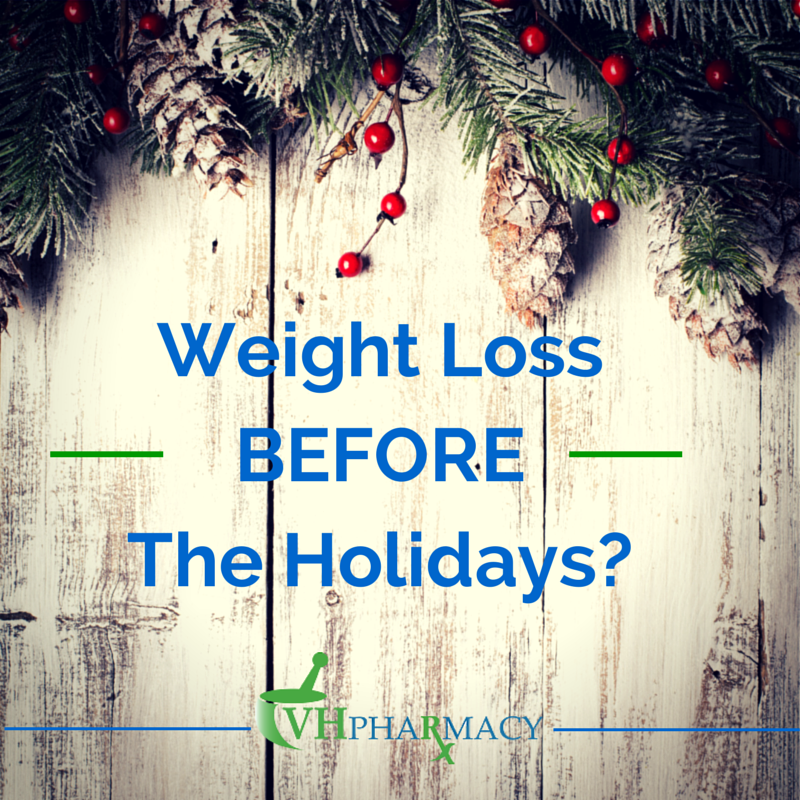 Weight loss before the Holidays
