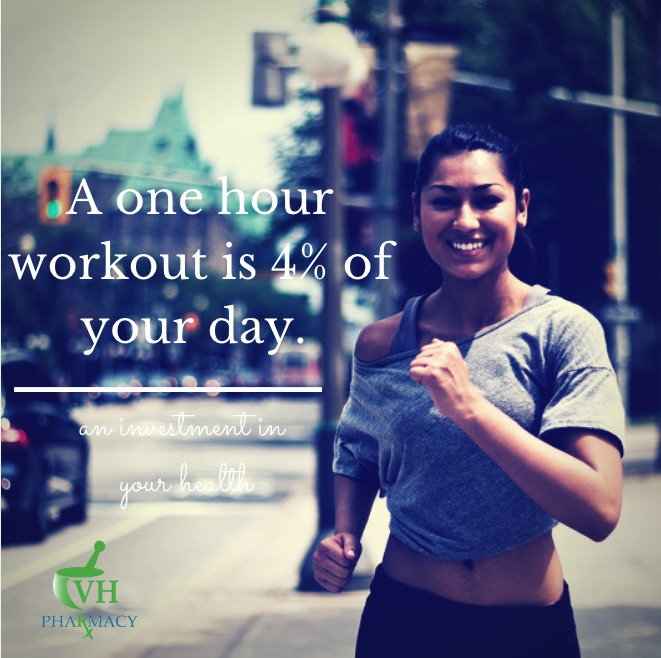 Four percent of your day can change your body in mere months. One hour of your day is all it takes to get you fit. A few tiny changes in your day are all that is needed to squeeze in a workout. Here are five tips for making time for exercise: