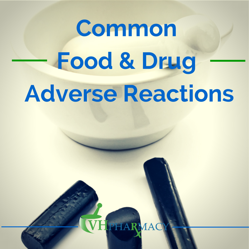 Common Food & Drug Adverse Reactions