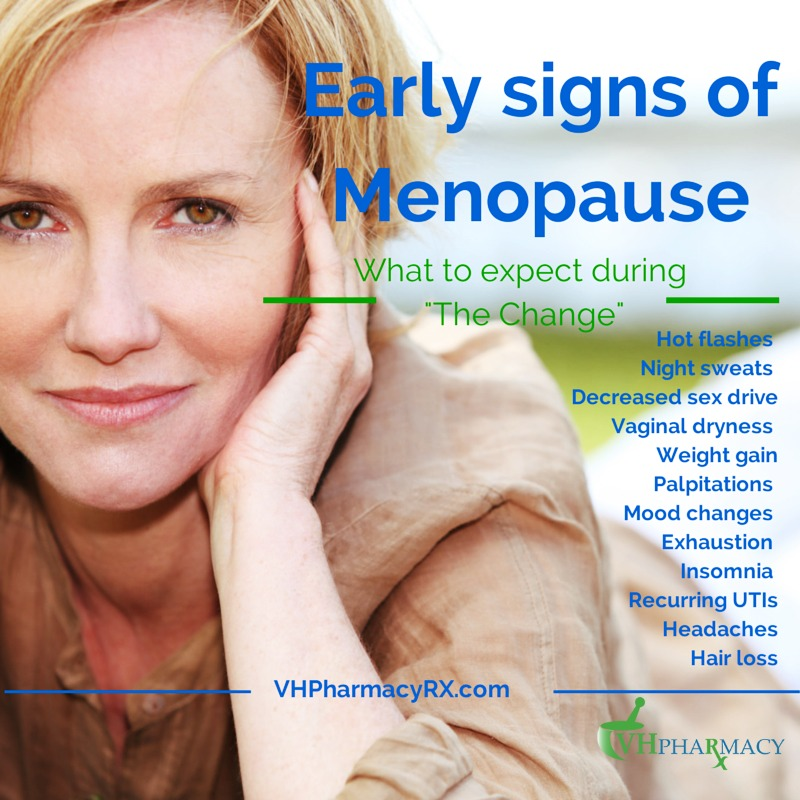"Going through ""the change"" can be confusing and overwhelming. Menopause can cause a different range of symptoms."