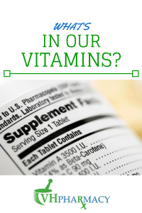 Many of us take vitamins and supplements to fill in the nutritional gaps in our diets. But do you know what's in your vitamins?